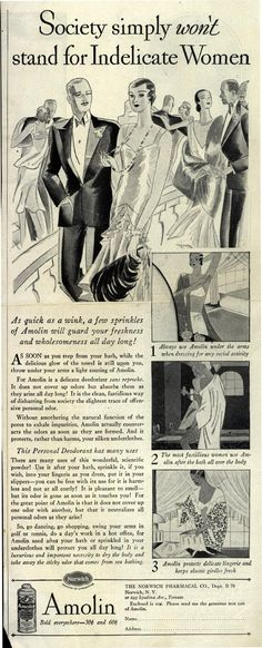1929 | Society simply won't stand for Indelicate Women