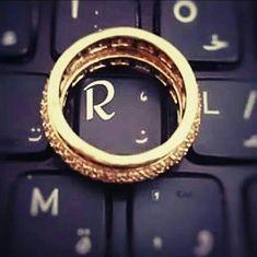 Letter R ♥ keyboard key R Letter Design, Alphabet Letters Design, Alphabet Images, Cute Letters, Picture Letters, Flower Letters, Alphabet Wallpaper, Name Wallpaper, Heart Wallpaper