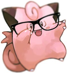 Hipster Clefairy by solnascer on DeviantArt