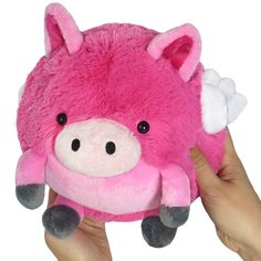Squishable Flying Pig Plush Pink Mini 7 for sale online Baby Animals, Cute Animals, Pet Pigs, Flying Pig, Cute Plush, Gift Store, Cuddling, Lana, Kids Toys