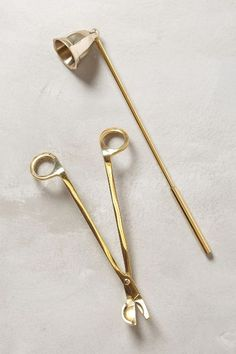 Gilded Snuffer Set #anthrofave