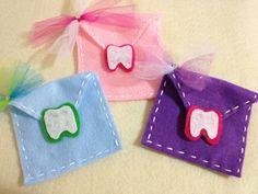 Enveloppe fée des dents pour dents lettres et par DeCoitesDeCrafts