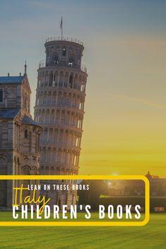 Children's books set in Italy #kidsbooks #familytravel Travel With Kids, Family Travel, Children's Books, Good Books, Italy For Kids, Italy Pictures, Travel Books, World Of Books, Popular Books