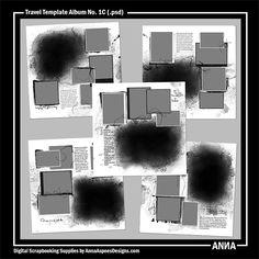 MyST AASPN Travel Template Album No. 1C