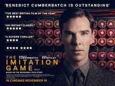 """""""Our film tonight: Oscar-winning Alan Turing biopic The Imitation Game, starring Benedict Cumberbatch & Keira Knightley. 2015 Movies, Netflix Movies, Good Movies, Movies Online, Math Movies, Gandalf, The Imitation Game Movie, Bletchley Park, The Incredible True Story"""