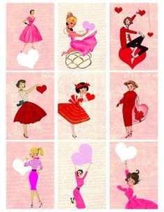 Your place to buy and sell all things handmade Valentine Gifts For Kids, Valentine Cards, Valentine's Cards For Kids, Sign Printing, Retro Art, Vintage Christmas, Christmas Ideas, Sticker Paper, As You Like