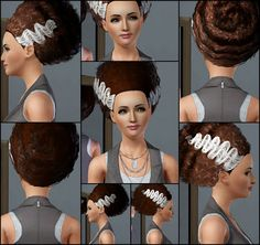 The Sims 3 Store: Hair Showroom: Bride of Beehive