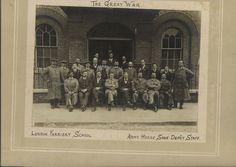 WW1 London Farrier School & Horse shoe depot Blacksmiths Great War Photograph World War One, Blacksmithing, Photograph, Military, Horses, London, School, Ebay, Art