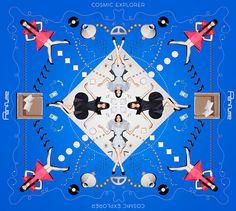 Perfumeの新アルバム『COSMIC EXPLORER』が、2016年4月6日(水)に発売される。『COSMIC EXPLORER』アルバムジャケット左)通常盤右)初回限定盤アルバムのために録り下... Cosmic Explorer, Editorial Design, Cd Design, Graphic Design, Layout Design, Cover Art, Vinyl Cover, Hermes Perfume, Japanese Design