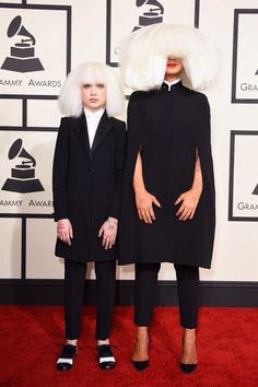 Throwback to Grammy Awards w/ Sia ❤️