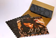 Put this graduation cap card box on your party table and guests can leave their gifts and well wishes inside!