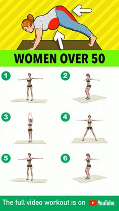 Fitness Workouts, Gym Workout Videos, Gym Workout For Beginners, Fitness Workout For Women, At Home Workouts, Fitness Tips, Morning Ab Workouts, Senior Fitness, Pilates Workout