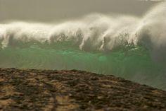 Ke Iki shorebreak ~ photographer Gregg Miller; North Shore, Oahu, Hawaii