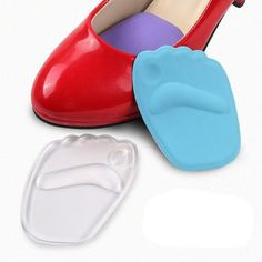 1dc6a7595711  EBay  Women S High Heel Forefoot Shoe Pad Insoles Silicone Foot Care  Massage Pad Insole