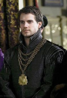 Henry Cavil como Brandon em The Tudors e como inspiração medieval. #casamento #criatividade