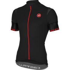 7a046873e Castelli 2017 Men s Entrada Full Zip Short Sleeve Cycling Jersey - A16013  (black - M