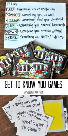 m and m game, know your neighbor game
