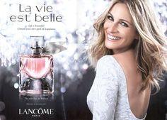 Julia Roberts looking gorg for Lancome La vie est belle