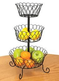3-Tier Wire Basket - want this!