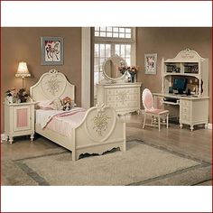 Merveilleux Sweet Girly Bedroom Girls Twin Bed, Twin Beds, Full Size Bedroom Sets, Kids