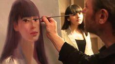 """FREE! Video """"cómo pintar un retrato"""" completo del artista Igor Sajarov"""
