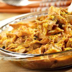 ranchero enchilada casserole