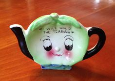 Tea bag Holder Vintage Davar fifties mid century by SpaceModyssey