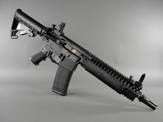"""LWRC M6A2 """"Basic"""" short barrel rifle in 5.56mm."""