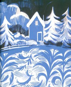 Once Upon a Northern Night by Isabelle Arsenault | tygertale