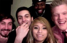 Laughing. Yes, I pinned a gif of PTX laughing. YOU GOT A PROBLEM WITH THAT? :)