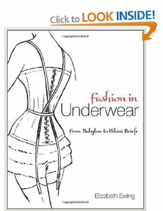 Fashion in Underwear (Dover Books on Fashion): Amazon.co.uk: Elizabeth Ewing: Books
