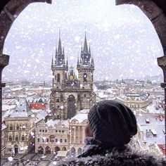 Prague, Czech Republic ....\ This beautiful picture is by : @inn_praha #prague #czech Republic.