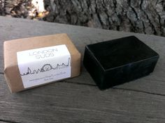 Activated Bamboo Charcoal & Olive Oil Soap via my friend's shop on Etsy - check out LondonSuds!
