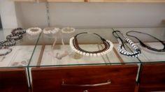 Colares e pulseiras criados para coleção 2014 da MYFOTS