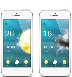 Weather App on Behance