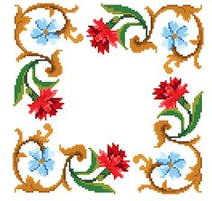 Special offer x 5 charts.Cross stitch pattern. by rolanddesigns