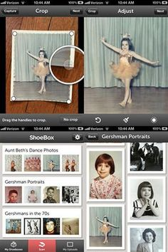 Shoebox App Turns Your Smartphone Into a Photo Scanner (gonna check this out for ipad)