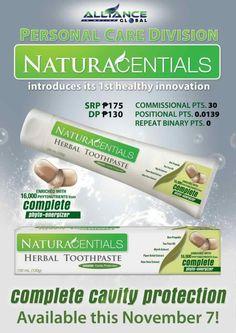 naturacentials toothpaste