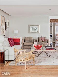 Apartamento é decorado com peças de influência escandinava - Casa