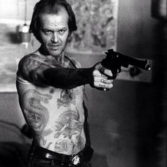 Just found this in a parallel universe Jack in De Niro's role in #TaxiDriver #shoppedtattoos
