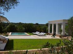 Luxury Holiday Villa Casa Es Trenc, Sa Rapita, Mallorca South East, sleeps 12, 2 pools