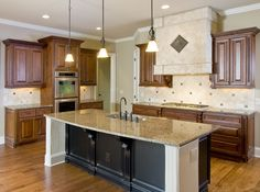 tile backsplashes with granite countertops | Tile Backsplash @ Granite Countertops, Marble Countertops, Alachua ...