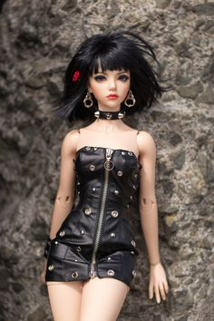 bjd and doll image Barbie Fashionista, Ooak Dolls, Blythe Dolls, Gothic Dolls, Look Girl, Beautiful Barbie Dolls, Realistic Dolls, Smart Doll, Anime Dolls