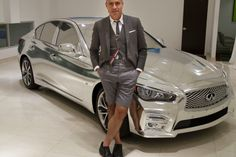 Designers Zac Posen and Thom Browne have come up with high-fashion versions of the 2014 Infiniti Q50.