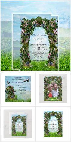 Wedding Reception Invitations, Wedding Themes, Honeysuckle Flower, Flower Invitation, Bride Accessories, Wedding Planners, Grape Vines, Thank You Cards