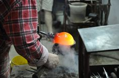 """""""New Crafts"""" The exhibition presents lamp designs that are the result of a collaboration between the designer and representatives of craft professions. """"Nowe Rzemiosło"""" presents also a detailed process of creation of individual components in the workshops of craftsmen such as metal spinner, stonemason, glass-blower, ceramicist, and locksmith."""