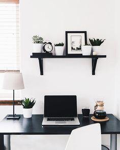 Minimalist Home, Office Interiors, Bedroom Setup, Bedroom Ideas, Desk  Setup, Home