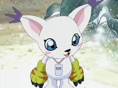 Gatomon: Digimon so cute