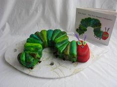 Very hungry Caterpillar, bug, fondant, cute, 1st birthday, eric carle,