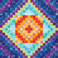 Scrappy Quilt Patterns from All People Quilt Scrappy Quilt Patterns, Batik Quilts, Bargello Quilts, Patchwork Quilting, Quilting Projects, Quilting Designs, Quilting Ideas, Sewing Projects, Patch Quilt